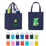 Promotional Non - Woven Grocery Tote Bag 12 X 13
