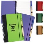 Promotional Contrast Paperboard Eco Journal