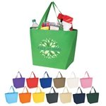 Promotional Non - Woven Budget Shopper Tote Bag