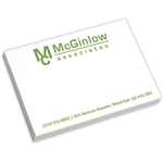 Promotional Value 4 x 3 Adhesive Notepads 50 sheet pad