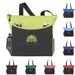 Promotional Polyester Multi Color Transport It Tote Bag 17 X 14