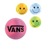 Promotional Multi Color Custom Mood Smiley Face Stress Ball