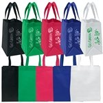 Promotional Non Woven Multi Color Economy Tote Bag 13 X 15