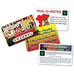 Promotional Usa Deluxe Stress-o-meter Card