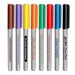 Promotional Fine Tip Permanent Ink Pocket Markers - USA Made