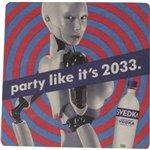 Promotional 4 - Square, 40 Pt.</li> <li> Pulp Board Coaster