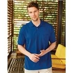 Promotional Hanes Stedman Blended Jersey Sport Shirt with a Pocket