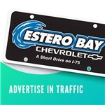 Promotional License Plate Insert