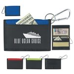Promotional Velcro(R) Wallet With Carabiner