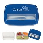 Promotional 3-Section Lunch Container