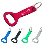 Promotional Aluminum Bottle Opener Key Ring