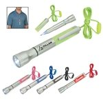 Promotional Flashlight With Light-Up Pen