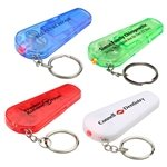 Promotional Sound N' Sight Led Key Chain