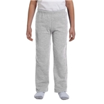Promotional Gildan Youth 8 oz Heavy Blend(TM) 50/50 Open - Bottom Sweatpants