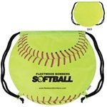 Promotional GameTime!  Softball Drawstring Backpack