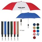 Promotional 44 Arc Auto - Open Folding Umbrella