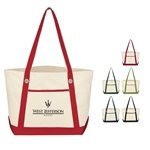 Promotional Medium Cotton Canvas Sailing Tote