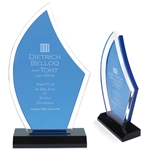 Promotional Acrylic Sailboat Award