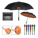 Promotional 44 Arc Two - Tone Safety Umbrella
