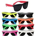 Promotional Two Tone Matte Sunglasses - Available In 8 Colors!