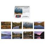 Promotional Tent Desk Calendar - Majestic Outdoors