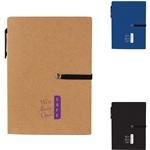 Promotional stretch-notebook