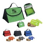 Promotional Container And Lunch Bag Combo