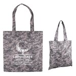 Promotional Digital Camo Nonwoven Value Tote