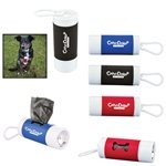 Promotional Pet Waste Disposal Bag Dispenser w / Flashlight