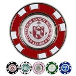 Promotional Metal Poker Chip Magnetic Ball Marker
