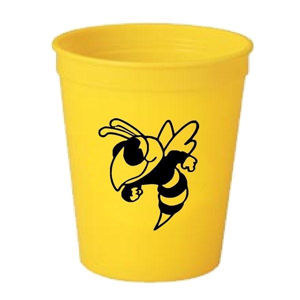 Promotional 16 oz Plastic Stadium Cup