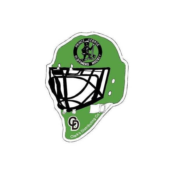 Promotional Hockey Helmet and Mask Synthetic Felt Sports Pennant