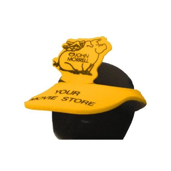 Promotional Pig With Wings Pop - Up Visor