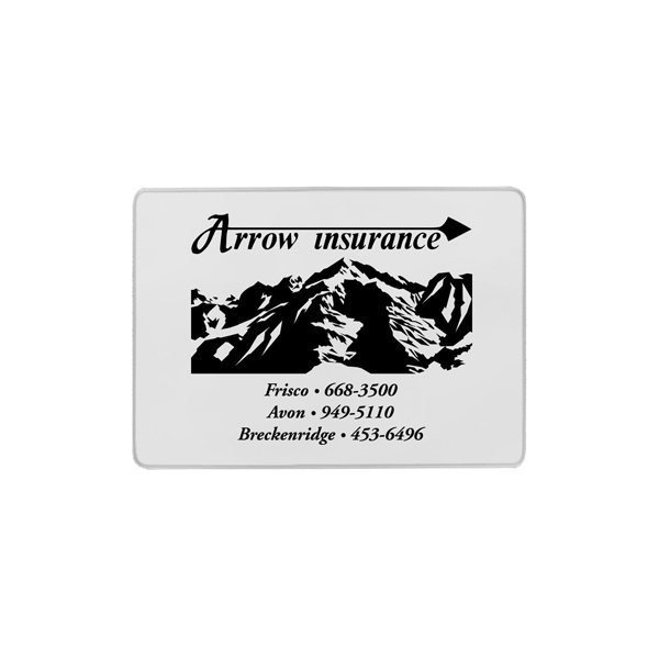 Promotional Insurance Card Holder - Single Pocket