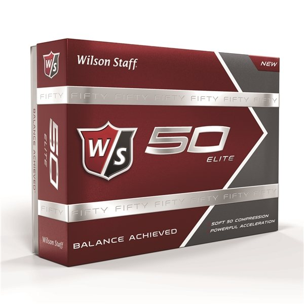 Promotional Wilson 50 Elite Golf Ball Std Serv