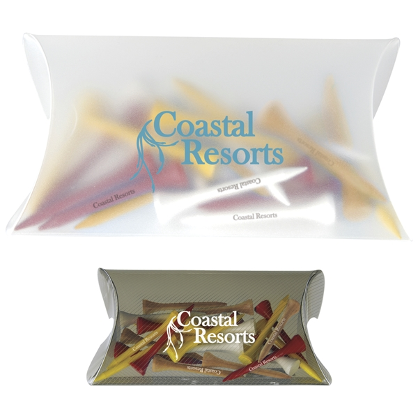 Promotional Pro - Select Pouch with Tees - 2-3/4 Tee