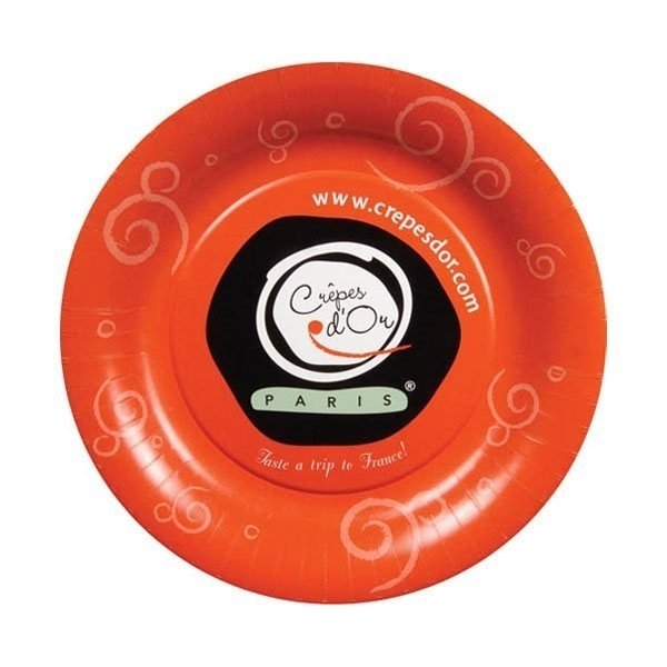 Promotional 10.5 White Paper Plates 26 pt.