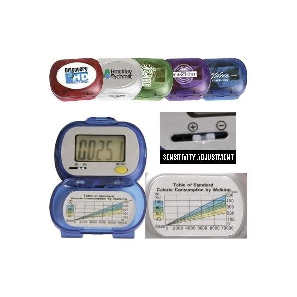 Promotional Large Digit Single Function Digital Pedometer