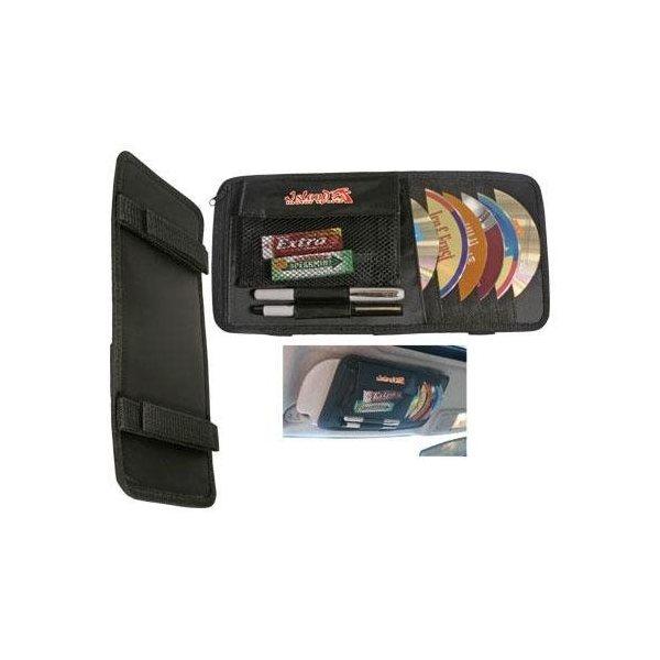 Promotional Multipurpose CD / DVD Visor Caddy