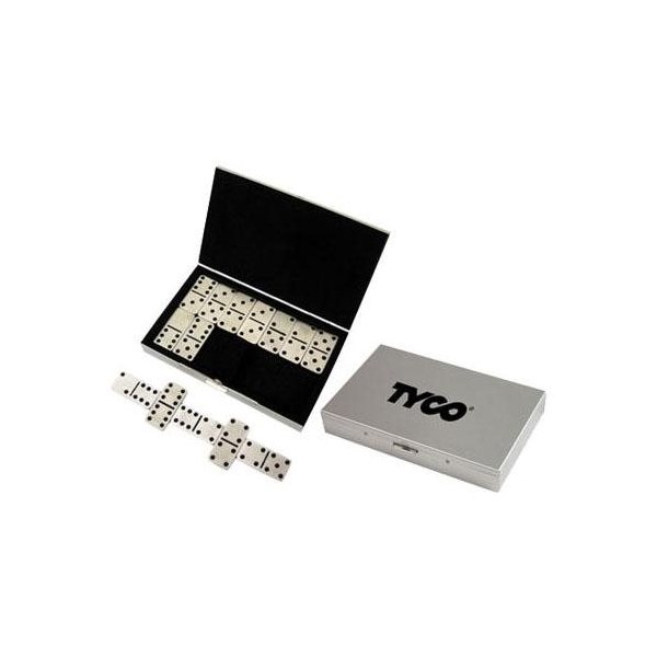 Promotional Stainless Steel Travel Domino Set