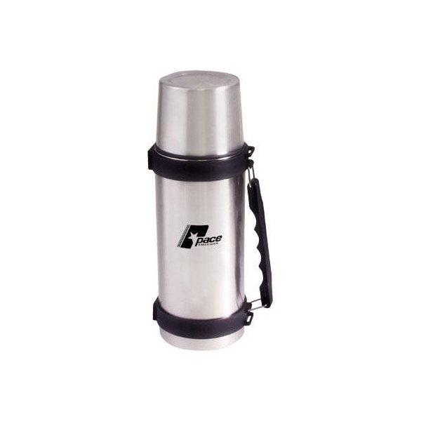 Promotional 34- oz. (1- Liter) Stainless Steel Vacuum Bottle