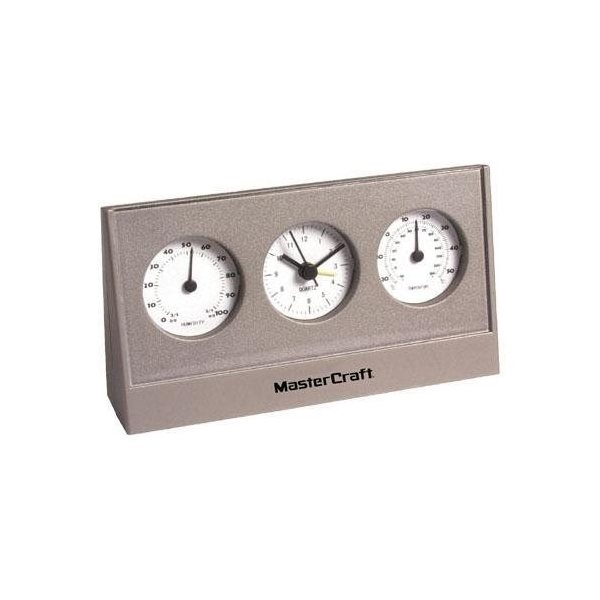 Promotional Desktop Weather Station with Alarm Clock