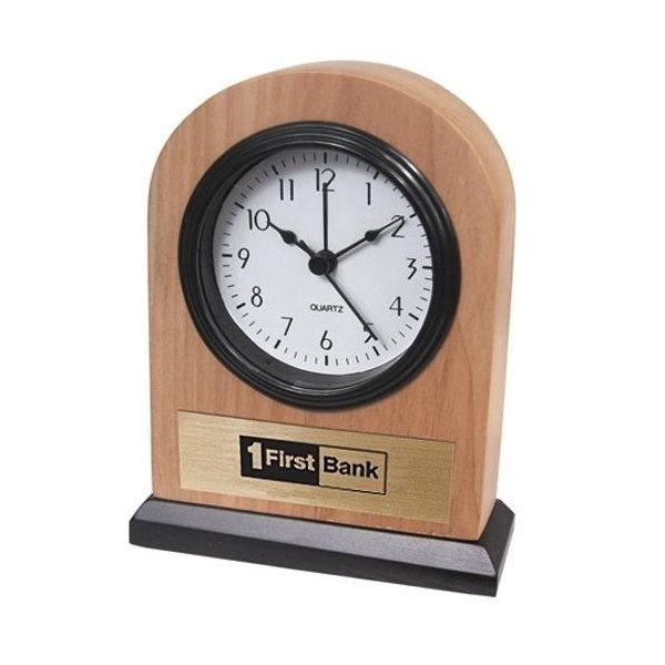 Promotional Solid Ash Alarm Clock