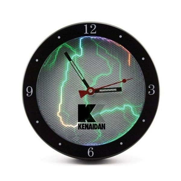 Promotional 9 Sound - Activated Plasma Wall Clock