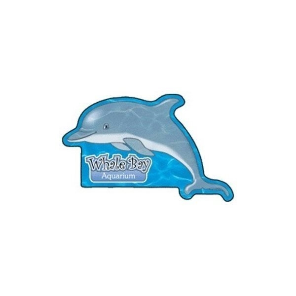 Promotional Dolphin - Die Cut Magnets