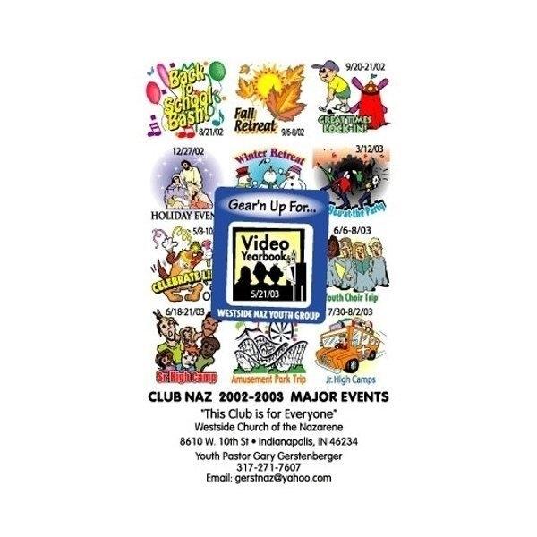Promotional Frame - of - Mind(TM) Gator Mag(TM) - Back To School1