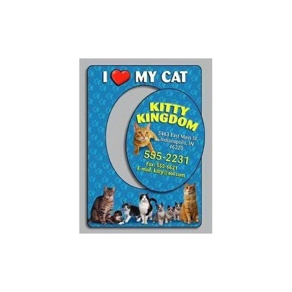 Promotional I Love My Cat - Picture Frame Magnets