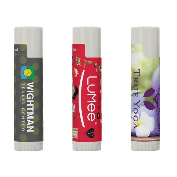 Promotional SPF 15 Lip Balm in White Tube