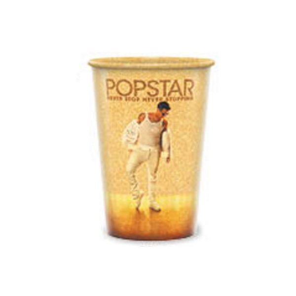 Promotional 20 oz reusable frosted clear cups