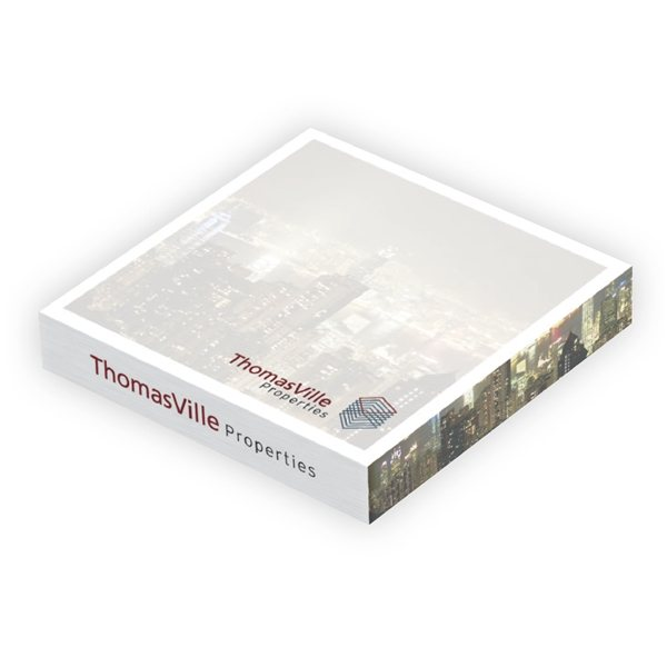 Promotional Adhesive Cubes 3 x 3 x 1/2